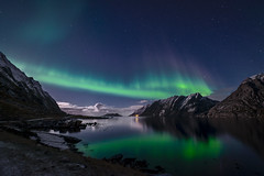 d a n c e | flakstad, norway (elmofoto) Tags: longexposure nightphotography travel mountains reflection norway night lights islands norge travels nikon fav50 fav20 explore le aurora moonlight fjord plasma scandinavia northern fav30 lofoten nocturne northernlights auroraborealis pf 500v arcticcircle borealis moonglow d800 nordlys nordland flakstad 1000v fav10 fav100 fav200 fav300 10000v explored fav40 5000v fav60 fav90 fav80 fav70 25000v flakstadya 1424mm fav500 fav1000 nikond800 fav400 fav600 fav700 fav800 fav900 ireview