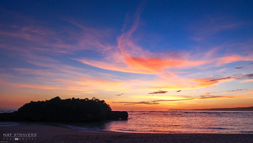Sunset at Marosi beach - west Sumba