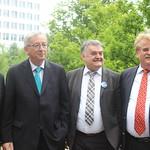 Jean-Claude Juncker visit to Düsseldorf, Germany; 30 April thumbnail