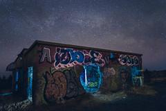 Graffiti under the stars
