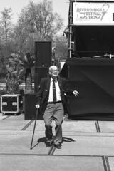 Amsterdam 2016 - Westerpark - Bevrijdingsdag (PhotompNL) Tags: blackandwhite bw white black monochrome amsterdam canon eos noir noiretblanc zwartwit nederland sigma veteran zwart wit weiss blanc schwarz westerpark feher fekete veteraan 5dmarkii monichroom