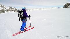 Day 1: Plateau du Trient -   you could land a plane here. (Erik.G.) Tags: zermatt chamonix skitouring skitour hauteroute valsorey plateauducouloir