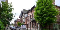 Zurenborg und die Belle Epoque in Antwerpen (Ulrike Parnow) Tags: europa antwerpen belgien flandern zurenborg cogelsosylei transvaalstraat waterloostraat jugendstilinberchem