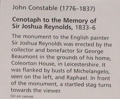 IMG_1560V John Constable. 1776-1837. Londres. Cenotaph to the Memory of Sir Joshua Reynolds. Cnotaphe  la mmoire de Sir Joshua Reynolds. vers 1835.   Londres National Gallery. (jean louis mazieres) Tags: greatbritain london museum painting unitedkingdom muse nationalgallery londres museo peintures johnconstable grandebretagne