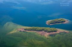 Two lone islands (Aleksander Gowacki Photography) Tags: blue trees lake tree green nature wonderful island spring amazing colorful mazury ngc lakes poland polska