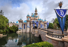 An Iconic Castle (Samantha Decker) Tags: california ca disneyland wideangle socal anaheim themepark sleepingbeautycastle uwa canonef1635mmf28liiusm canoneos6d samanthadecker socal16