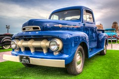 FORD (Ziad Hunesh) Tags: blue ford car canon sigma pickup f1 hdr qatar 650d zhunesh