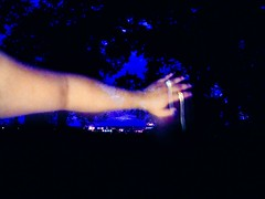 (Highburnate) Tags: blue light summer canada night lumix hand arm panasonic rings nathalie gx8 weiswasser dmcgx8