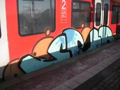 spur (wallsdontlie) Tags: train spur graffiti panel