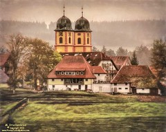 St. Mrgen Abbey, Black Forest Germany (PhotosToArtByMike) Tags: forest germany schwarzwald blackforest mountainrange badenwrttemberg southerngermany denseforest stmrgenabbey