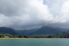 Hanalei Bay, Waterfalls (bruzasd) Tags: hawaii bay waterfalls kauai hanalei 2016