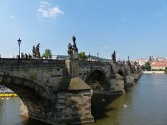 Charles Bridge - Prague (mcmillan_ra) Tags: bridge lumix prague panasonic czechrepublic fz200