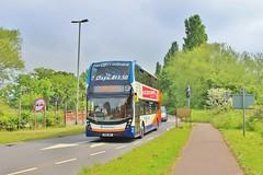 Stagecoach Merseyside & South Lancashire 10534 SN16OMY - Dawlish Roundabout (South West Transport News) Tags: south roundabout lancashire stagecoach merseyside dawlish 10534 sn16omy