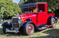 1928 Ford Pickup Hot Rod (Kool Cats Photography over 7 Million Views) Tags: red ford wheel photography pickup hotrod 1928 ef24105mmf4lisusm canoneos6d