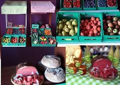 Diorama Secrets -  Now $8.95 (dolly0101) Tags: food barn bread miniature market ooak ken barbie meat german 16 farmer custom diorama