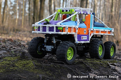 Lego Technic Off-Roader Dodge T-Rex 6x6 Friends Edition (Desert Eagle Lego Technic Creations) Tags: lego technic legotechnic dodge offroader