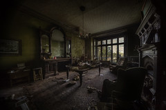 musty air  :: (andre govia.) Tags: house abandoned window table mirror photo shadows chairs photos decay ghost andre creepy manor urbex govia