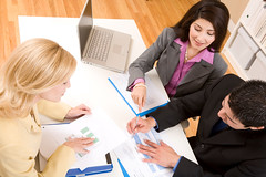 MP900442559 (westcoastblue) Tags: people male smiling businessman female office team support women unity