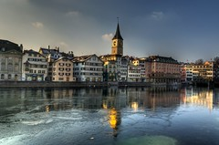 Zurich, Switzerland, St. Peter HDR (Matti_T) Tags: city church st river schweiz switzerland zurich kirche peter zurique zrich svizzera hdr sveits stpeter switserland sviss  sussa limmat zwitserland sveitsi limmatquai isvire zurigo    szwajcaria   curych zurych vcarsko s  veits   thy      vajiarsko vajcarska   suza uswisi zrichi    zric  srixd