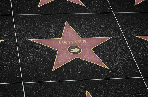 Twitter Star Walk of Fame (tilt) by Threeboy, on Flickr