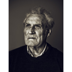 grandpa (zaneone) Tags: portrait bw london zaneone
