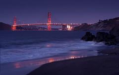 The Golden Gate (tigrić) Tags: sanfrancisco california sea usa us unitedstatesofamerica goldengatebridge chinabeach