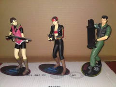 Resident evil figures - Palisades (giraldi26) Tags: chris game japan toy claire jill evil carlos valentine fantasy figure playstation biohazard palisades resident redfield oliviera