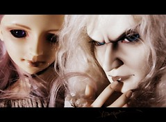 Zhion and Gallierd (borometz) Tags: art doll vampire gothic fantasy bjd   custom volks 13 ark sakaki balljointdoll  sd13 unidoll kyotenshi    zhion      gallierd