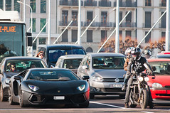 Aventador (Lambo8) Tags: horse black car matt switzerland photo hp nikon italia noir power suisse geneva d 8 s mat 200 28 af gt nikkor mate ge 80 genve lamborghini nero f28 supercar matte ch 80200mm v12 80200 noire 80mm d300 200mm afd worldcars aventador