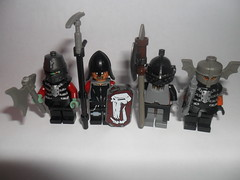 LOTR - Orcs: The Twelfth Batch (G g) Tags: lego batch lord lotr rings weapon goblin axe soldiers lordoftherings 12 weapons orc sauron mordor saruman ork orcs morgoth morannon legolordoftherings legolotr lotrorc lotrorcs