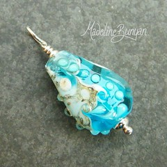 "Pendant - Aqua Map Teardrop • <a style=""font-size:0.8em;"" href=""https://www.flickr.com/photos/37516896@N05/6829881188/"" target=""_blank"">View on Flickr</a>"