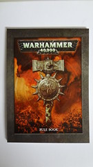 Rule book (InteractivePainting) Tags: boy dice black game painting table army miniature marine war paint die top space boyz games assault special plastic 40k workshop captain warhammer getting sheet marines reach terminator transfer interactive gw ruler started base template tabletop rulers orks bases nob unboxing regular 40000 templates ork dreadnought tactical warboss armies unbox terminators nobz deffkopta interactivepainting deffkoptas finecast citdal