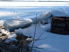 "P1020820 (Toats Master) Tags: winter snow ontario ski ice water cottage shoreline severn lake"" lakes"" winter2010 waterway"" ""trent ""balsam ""kawartha"