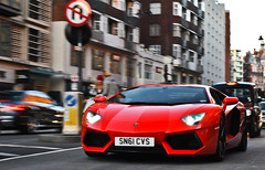 Aventador. (Richard T Smith) Tags: london t nikon smith knightsbridge richard lp february 700 lamborghini arancio cvs 2012 argos d60 sn61 aventador lp700 lp7004 sn61cvs