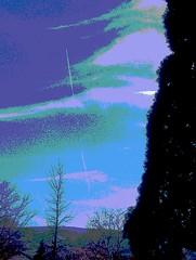 IMAG1065_Manzanita Sky II (STPhotographyCapturingLight) Tags: sunset mountains tree art clouds landscape photography design architechture unitedstates roadtrip canvas smartphone highart htc renonevada experimentalphotography hatcreek featherlake 20x30matt
