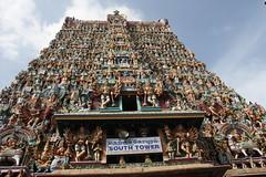 Madurai, Sri Meenakshi Temple, southern gopuram