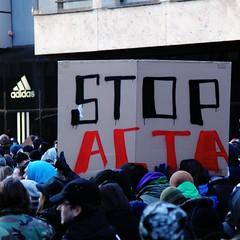 Noch einmal in groß (WildeBilder) Tags: demo internet protest demonstration zensur anonymous kundgebung nürnberg überwachung acta versammlung urheberrecht