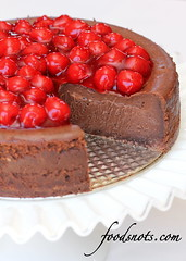 Cherry Fudge Brownie Cheesecake (Recipe Snob) Tags: cheese cherry pie recipe dessert mix chocolate cream fudge cheesecake desserts valentines brownie syrup recipes flour heavy brownies filling