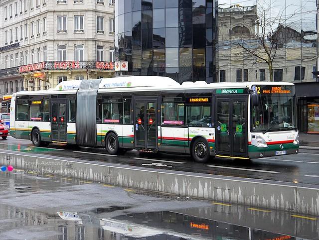 Irisbus Citelis 18 GNV TRANSPOLE n°8657