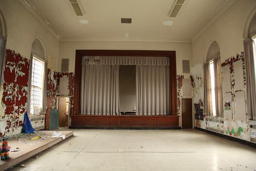Theater inside the children's ward