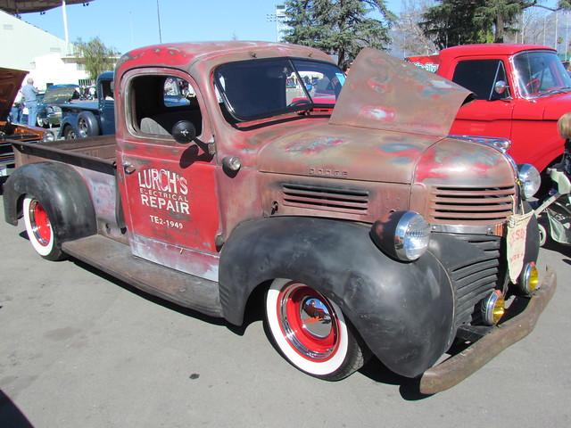 truck pickup dodge 1946 gnrs2012 grandnationalroadstershow2012 nickherring photobballchico2012
