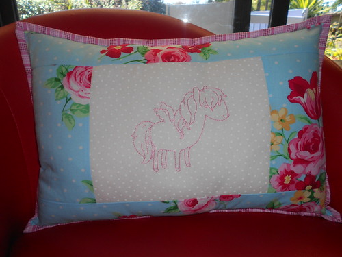 Pretty Pony Pillow