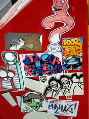 Thanks for having me (Question Josh? - SB/DSK) Tags: streetart philadelphia sticker stickerart stickers josh question philly toro slob eltoro uwp ticky questionjosh 14bolt label228