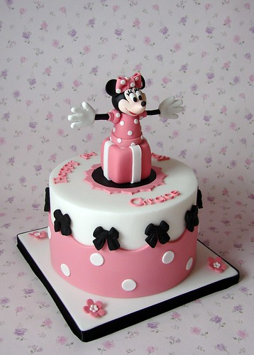 Minnie Mouse Cake for Grace's 1st Birthday