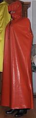 orange waterproof raincape for storm from the left (lacki310510) Tags: latex cape raincoat lack enclosure fetisch raincape kleppercape latexcape rubbercape vinylcape lackcape shinyvinylcape rubberisedcape lackcapelackcape totalenclosureincape totalenclosureinrubber totalenclosureinvinyl latexcaperubber rubbercapeshinyvinylcape pvccapepvccapecape fetischrainwear raincoatrubbercape