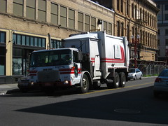 Recology Portland (Thrash 'N' Trash Prodcutions) Tags: oregon trash truck portland garbage republic disposal wm bin management trucks cans norcal waste cart refuse recycle recycling services sanitation carting toter allied recology