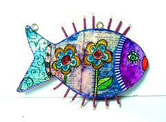 fish (**mira pinki krispil-colors of life ***) Tags: sculpture fish art animal handmade fimo clay pinki polymer        mirakris