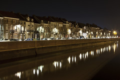 - 52/366 - 8/52 - (Pieter D) Tags: city houses reflection water night 365 day52 mechelen 2012 hous week8 366 project365 pieterd project366 mostly365 522012 52weeksthe2012edition 365the2012edition weekoffebruary19 21022012