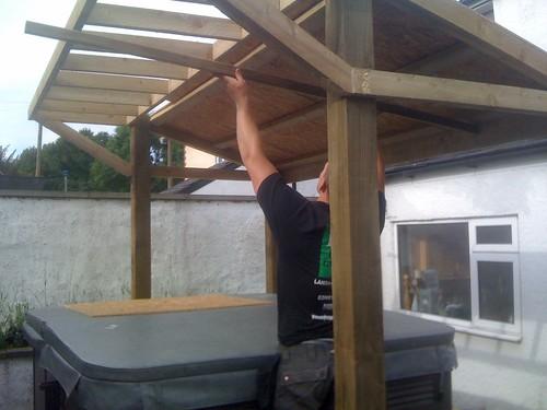 Fencing and Hot Tub Gazebo - Macclesfield Image 5