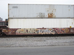 GUNE/FUNK/CUS (VA. STATE OF MIND) Tags: train graffiti funk cus freight wh gune